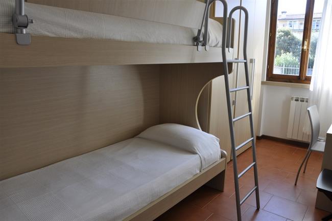 camera con letti a castello