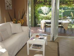 Living room with terrace acess